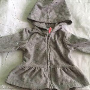 Carters baby girl hoodie